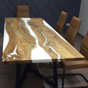 стол из слэба со смолой 4